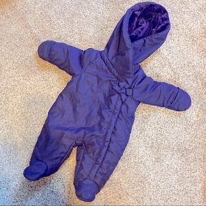 First Impressions Bunting Snowsuit